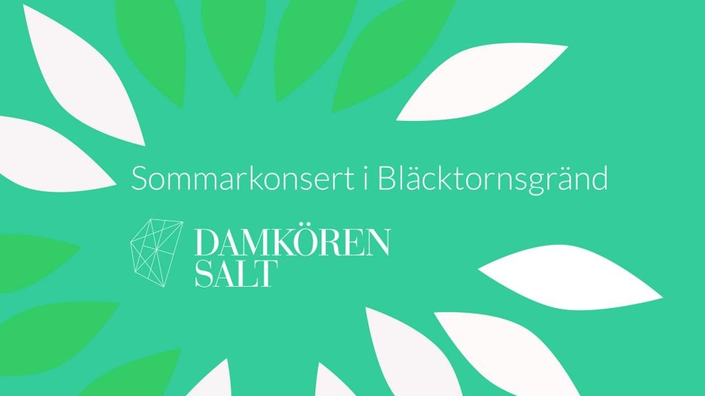 Sommarkonsert i Blecktornsgränd på Södermalm i Stockholm