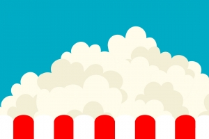 popcorn illustration liten bild